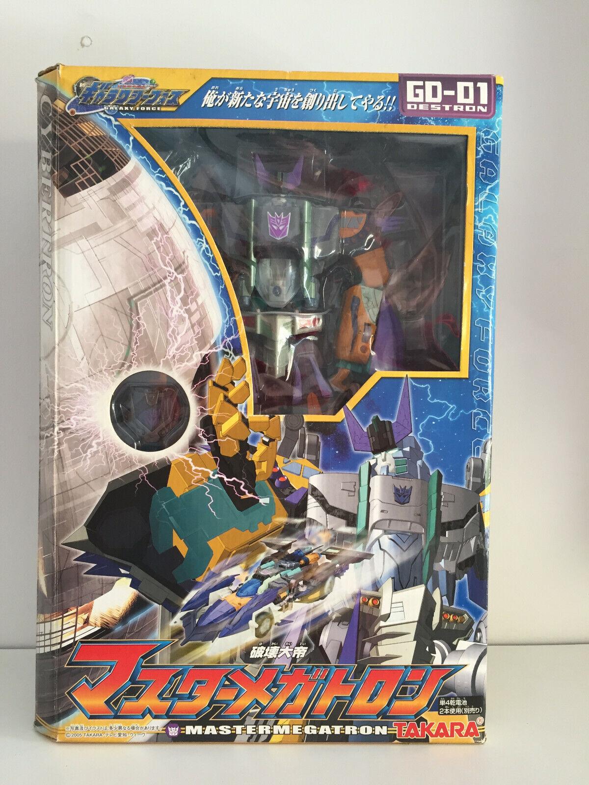 Takara Transformers Galaxy Force GD-01 Master Megatron