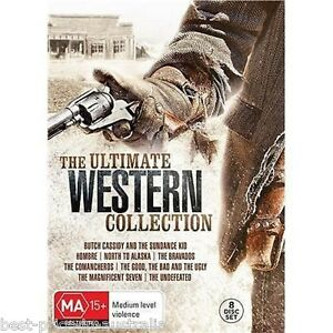 The-Ultimate-WESTERN-Collection-DVD-NEW-8-MOVIES-8-DISCS-COLLECTOR-039-S-BOX-SET-R4