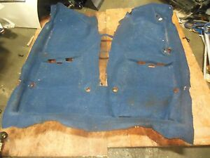 Jdm Subaru Impreza Wrx Sti Blue Floor Moulded Carpet Gdb Sti Floor Carpet 02 04 Ebay