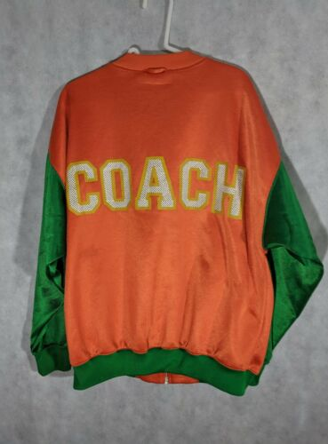 Vintage 60s 70s Reebok Track Jacket COACH Rare