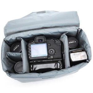 Dslr Canon Nikon Sony Waterproof Camera Bag Insert Partition Padded With Clip Ebay