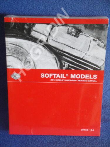 2012 Harley Davidson softail heritage fatboy night train rocker  service manual