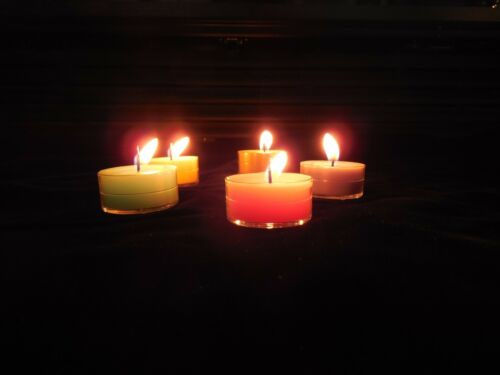 """Tea Light Candles 12 Aromatherapy Scents /""""A-G/"""" Seasons of the Earth"""