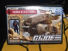 PURSUIT OF COBRA 2010  G.I. JOE COBRA H.I.S.S. TANK v.5 W/ H.I.S.S. TANK DRIVER