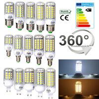 5W 6W 7W 8W 9W E27 E14 G9 LED Birne Glühbirne Leuchte Maislampe Licht Xmas Lampe