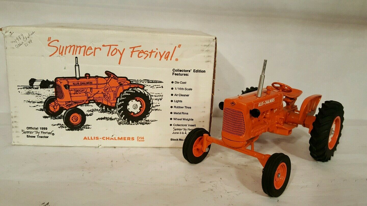 Allis Chalmers D14 1 16 diecast farm tractor replica collectible by SpecCas