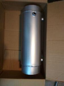 Intercambiador-de-Calor-Gases-Escape-Tubo-Humo-DN120-Agua-Acero-Inox