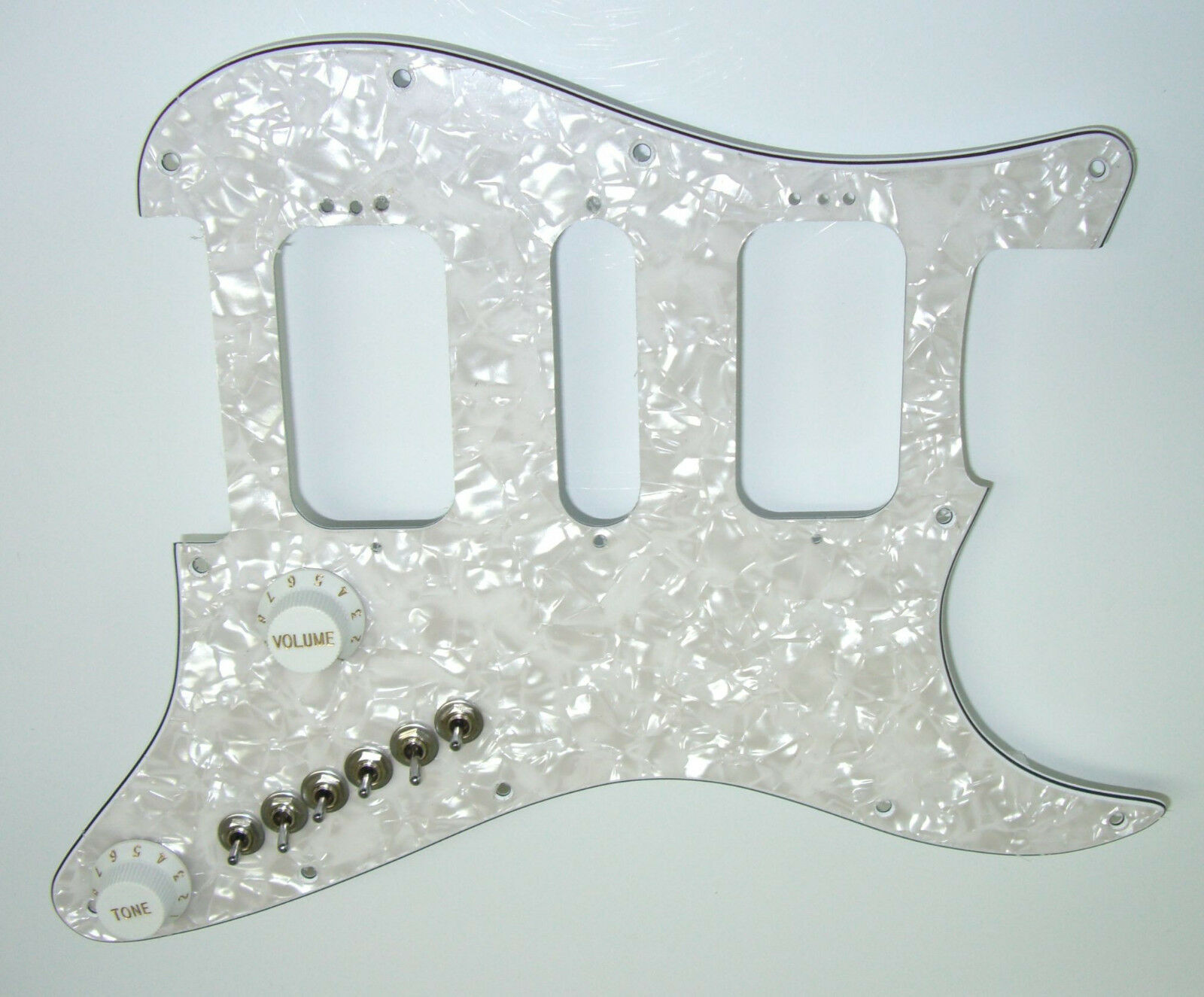 Upgrade Fits Fender HSH Stratocaster Strat Has 35 Pickup Tones + Treble Bleed