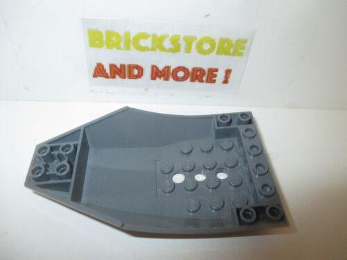 Lego 1x Cockpit 10x6x2 Curved 47406 Dark Bluish Gray//Gris//Grau