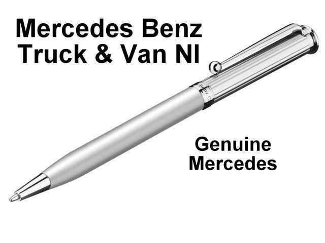 Mercedes Benz Silver Coloured Ballpoint Pen, BN Genuine Mercedes Benz, B66043352