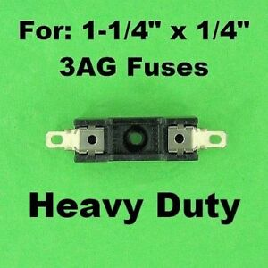 3AG-Fuse-Holder-Block-12-Volt-Vehicle-Automotive-30A-120V-AC-Universal-Inline