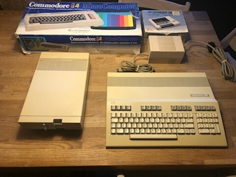 Commodore 64 & 128, arkademaskine, God, -Commodore 64…
