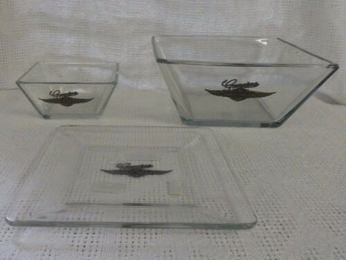 Harley Davidson Genuine Wings Glass Collection