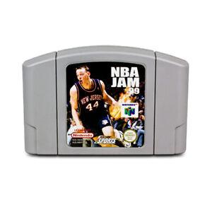 N64 juego NBA Jam 99