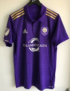 Adidas MLS Orlando City Primary Authentic Soccer Jersey Climacool ...