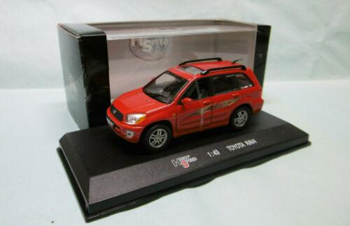 TOYOTA RAV4 4x4 rouge réf High Speed HF9235S BO 1//43