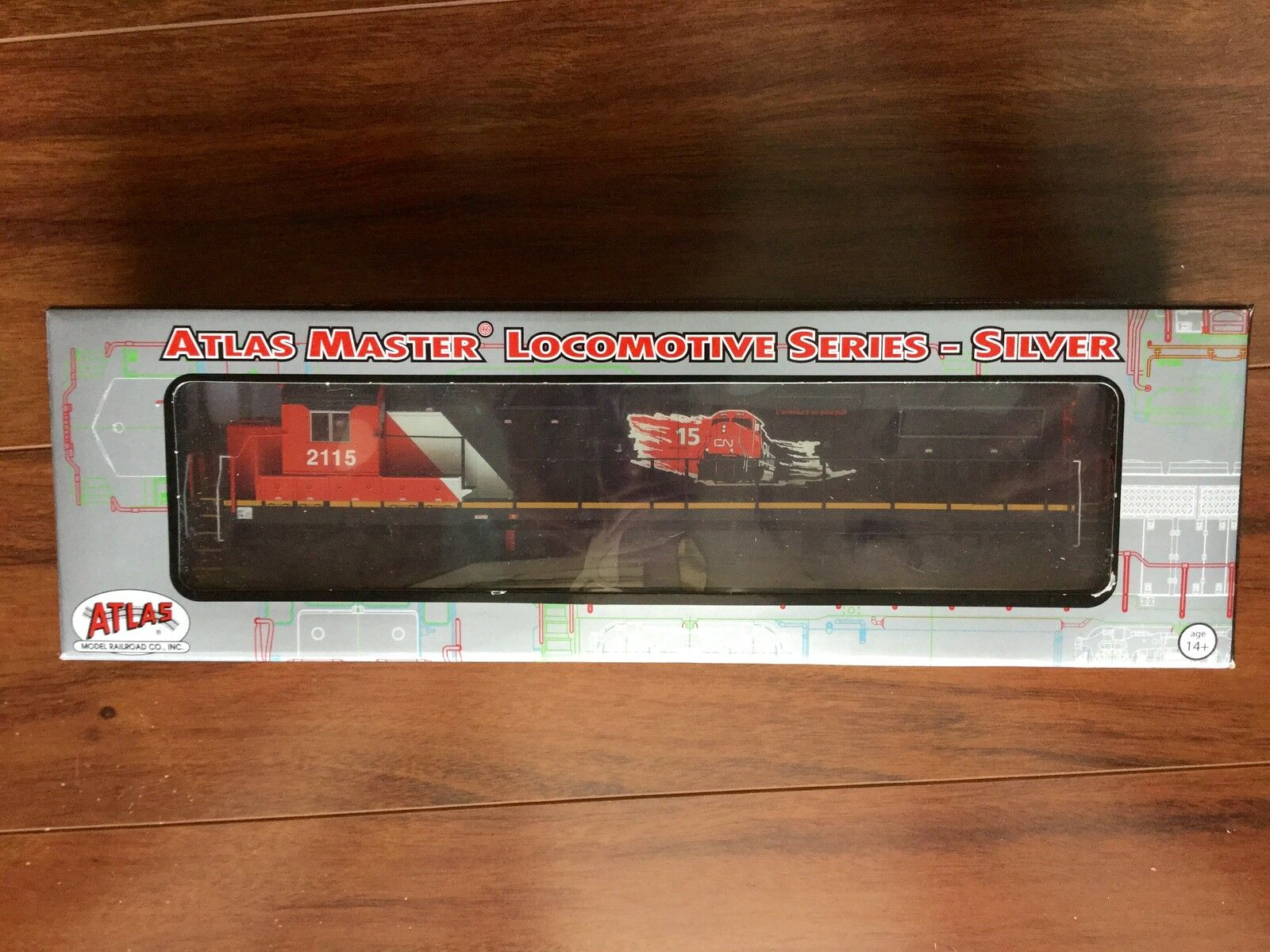 ATLAS  HO 1 87 DC CANADIAN NATIONAL DASH 8-40C 15TH AN ROAD F S