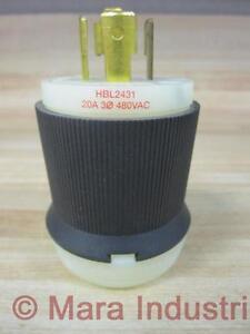 Hubbell-HBL2431-Insulgrip-Twist-Lock-Plug-2431