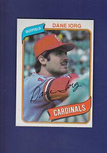 Dane-Iorg-RC-1980-TOPPS-Baseball-139-NM-St-Louis-Cardinals