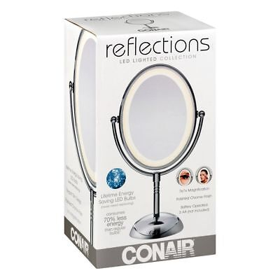 Conair Reflections Vanity Mirror 7x Magnification Led