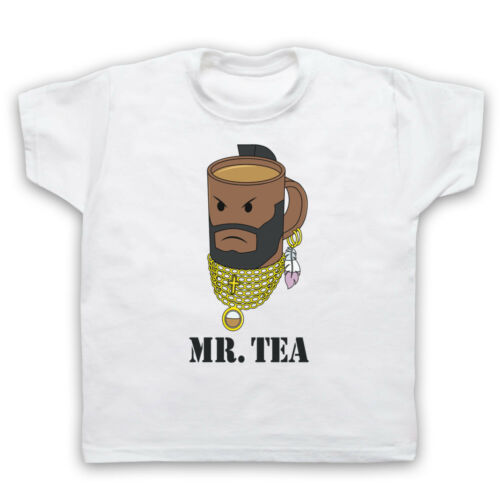 Monsieur Thé Graphic illustration Drôle Parodie Blague Cool Cup Hommes Femmes Enfants T-Shirt