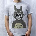 My Nightmare Totoro T-Shirt Design, neighbor Totoro, studio Ghibli, Parody