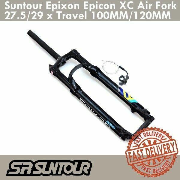 Suntour Epixon Epicon XC Air Gabeln MTB Remote Lock 27.5 29 x 100mm 120mm