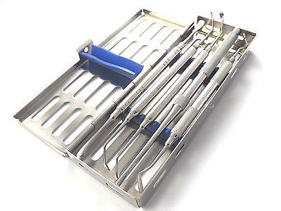 Medentra Basic Sinus Kit Bone Tamper Graft Packer Sinus Curettes Free Cassette