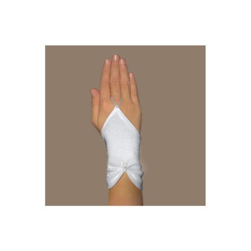 Handschuhe zur Kommunion kurze Kommunionhandschuhe Kommunionshandschuhe Strass
