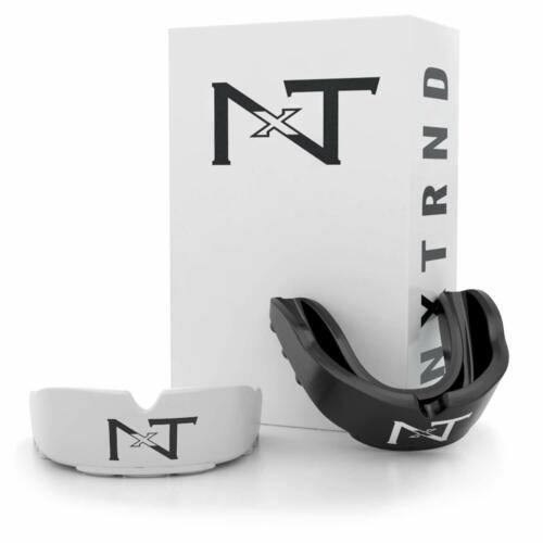 Nxtrnd Rush Sports Mouth Guard 2 Pack Of Professional Moldable Contact Sport