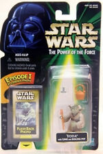 """Star Wars Power Of The Force Flashback Photo - Yoda with """"Real"""" Hair (MOC)"""
