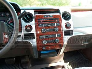 Ford F 150 F150 Fx 4 Xlt Sxt Interior Wood Dash Trim Set