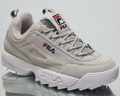 Fila Disruptor S Low Mens Grey Violet Chunky Sneakers Casual Shoes 1010577 3JW | eBay