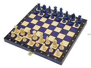 Juego-de-ajedrez-de-madera-Precioso-Ideal-para-un-Regalo