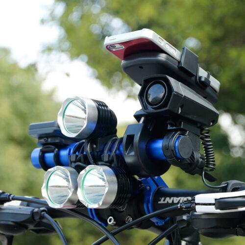 New Bike Bicycle Handlebar Extender Bracket Light Holder Phone Mount Fiber