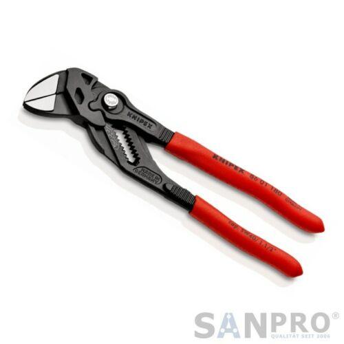 Maulschlüssel bis SW40 KNIPEX WaPu Zangenschlüssel 180 mm = Wasserpumpenzange