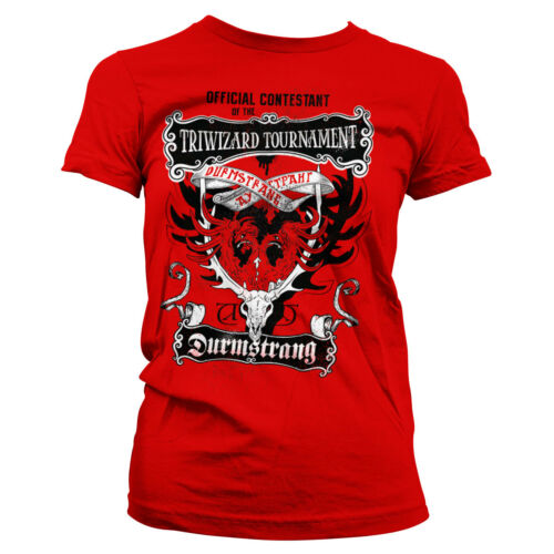 Officially Licensed Harry Potter Triwizard Tournament Women T-Shirt S-XXL Sizes