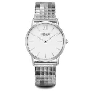 Eastside Armband-Uhr Damen Upper Union Edelstahl silber Damen Uhren Damenuhren