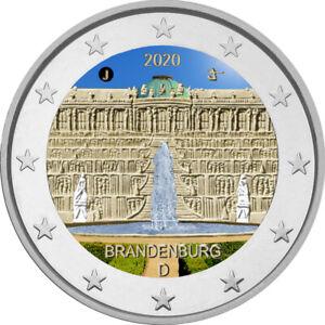 2-Euro-Gedenkmuenze-BRD-2020-Schloss-Sanssouci-coloriert-Farbe-Farbmuenze-2