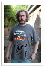 STEVE COOGAN SIGNED PHOTO PRINT AUTOGRAPH TOMMY SAXONDALE