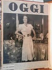 OGGI 9 luglio 1953 Joan Crawford Lucio Tasca Consulta Araldica Enrico Nocivelli