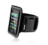 Verizon Iphone 5 5g Black Neoprene Sports Workout Running Gym Armband Strap Case
