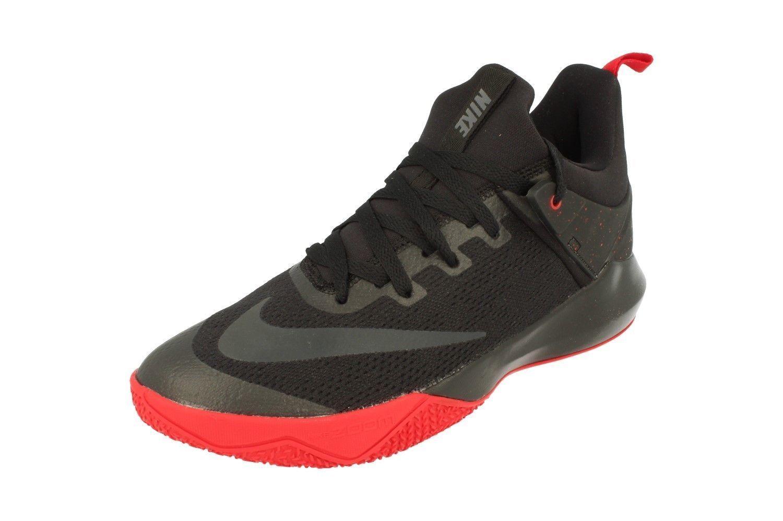 Nike zoom shift men's basketball schuhe schwarz/ROT 897653003