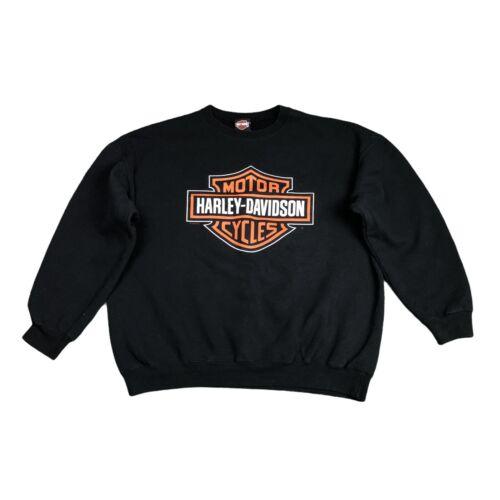 Vintage Harley Davidson Tee Cropped St Joe HD