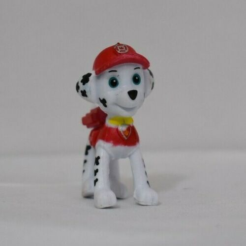 "Nickelodeon MARSHALL PAW PATROL FIGURINE Cake TOPPER  Firefighter 1.75/"" Toy NEW"