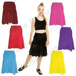 5d0e21d2f186 Girls Latin salsa tango rumba Cha cha Ballroom Dance Dress skirt UK ...