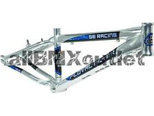 SE 2016 Floval Flyer BMX Cruiser Race Frame-High Polish Silver-Pro XL 24""