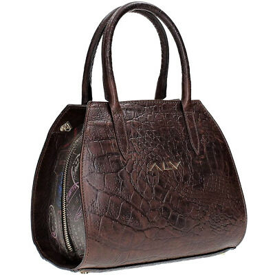 Borsa Bauletto Donna Testa di Moro Alviero Martini Bag Woman Brown