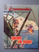 R&L Commando Comic Number 1338, Enemy in Sight, Boys British Comic