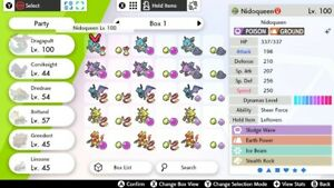 Pokemon-Sword-And-Shield-Box-Of-Random-VGC-EVO-Shiny-Eggs-Crown-Tundra